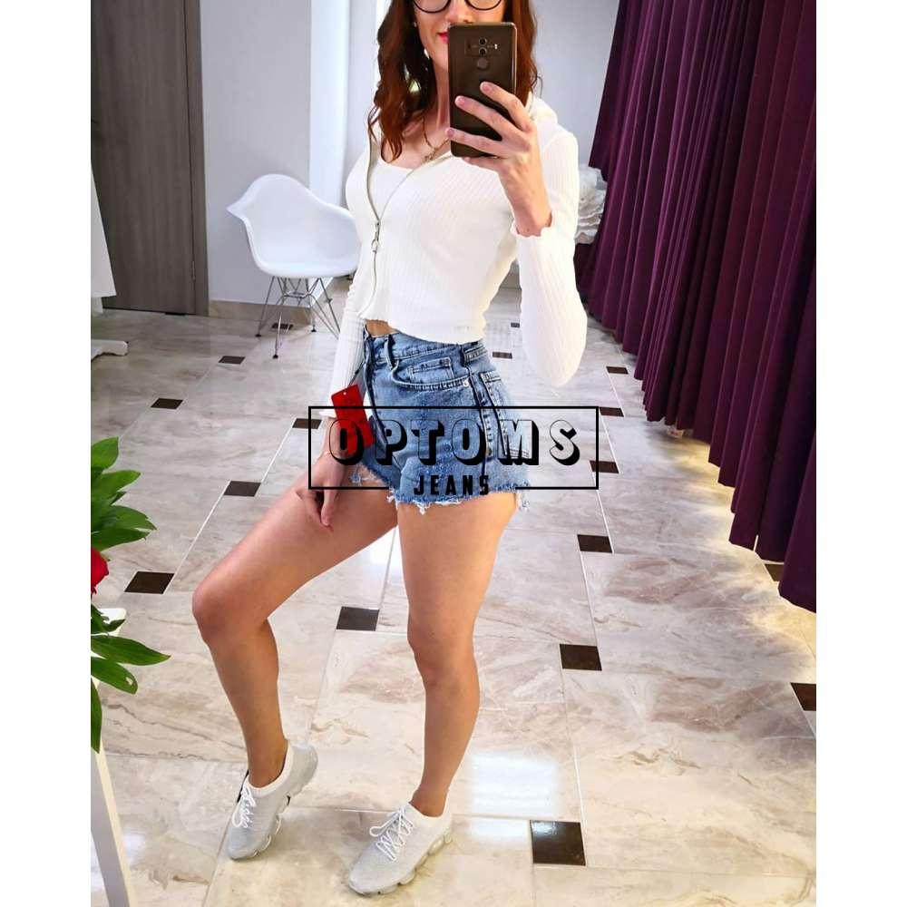 Женские джинсовые шорты DK49 49-218 26-28/6шт фото