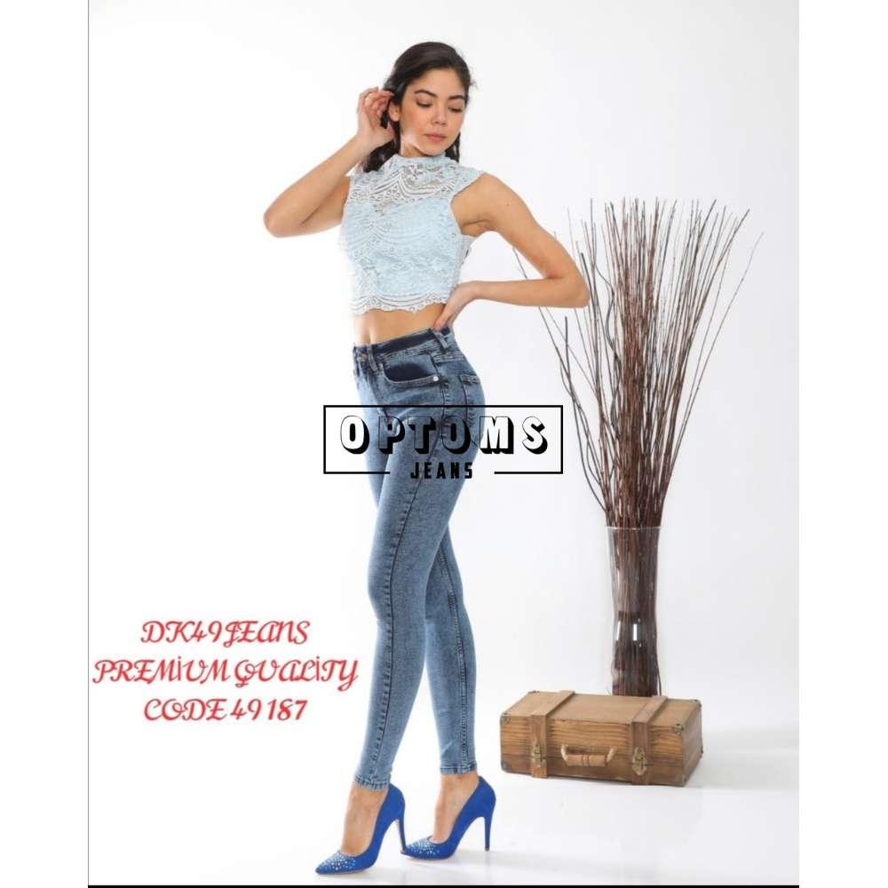 Женские джинсы DK49 49187 26-31/6шт фото