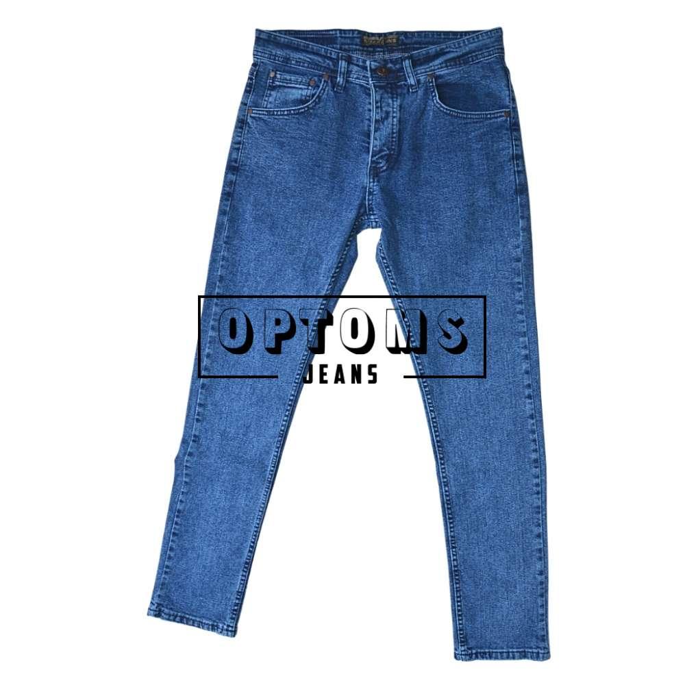 Мужские джинсы Slim Fit синие 350-1 30-38/8шт фото