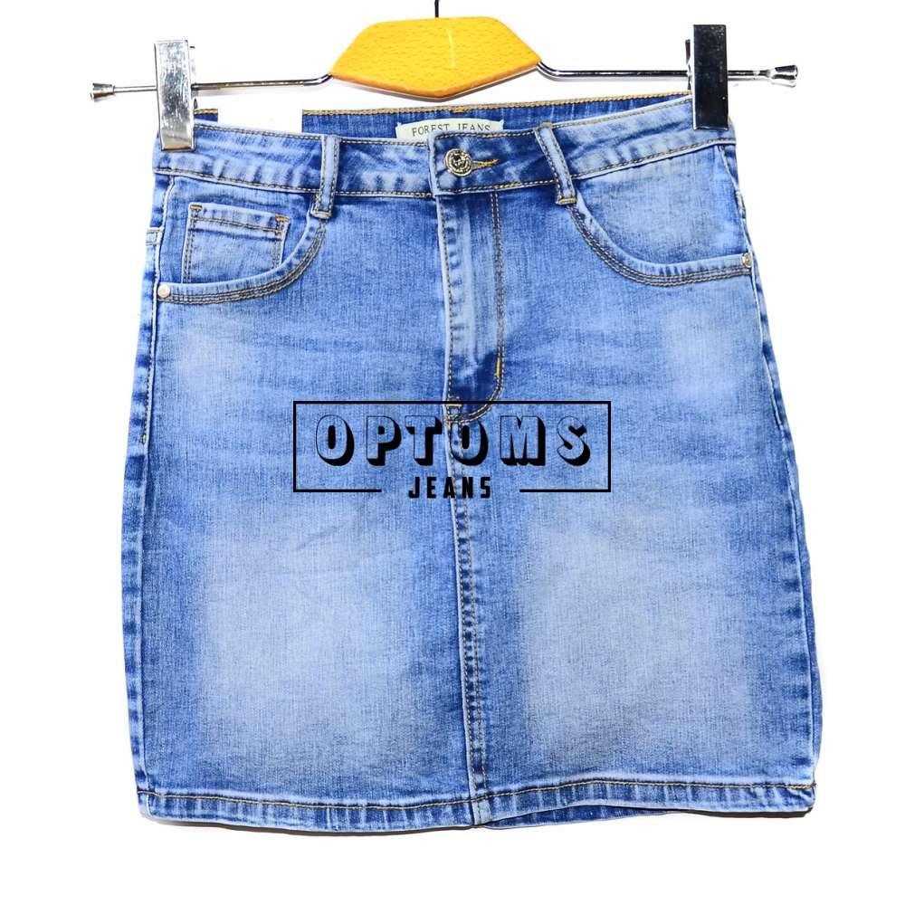 Женская джинсовая юбка Forest Z342 25-30/6шт фото