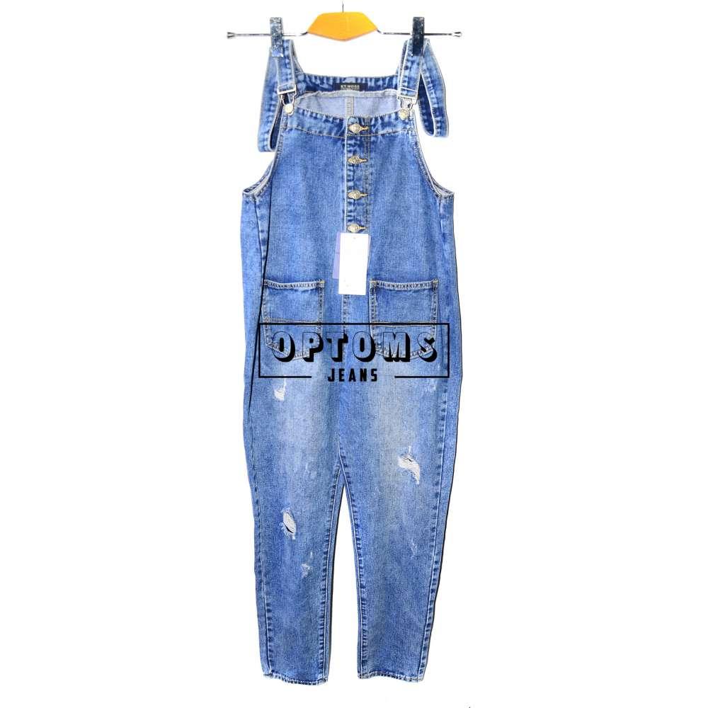 Женский джинсовый комбинезон KT MOSS 6033 S-XL/6шт фото