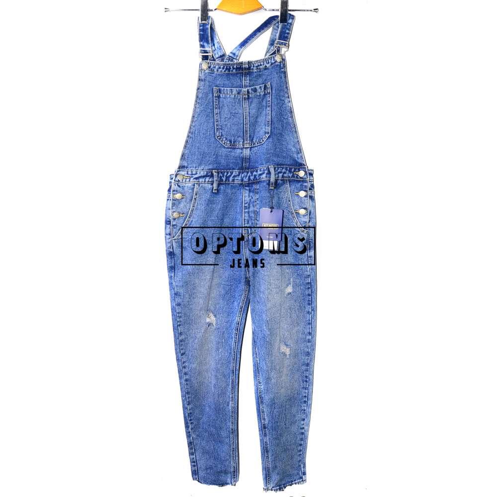 Женский джинсовый комбинезон KT MOSS 6037 S-XL/6шт фото