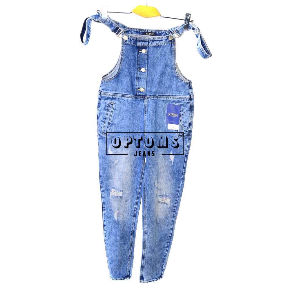 Женский джинсовый комбинезон KT MOSS 6038 S-XL/6шт фото