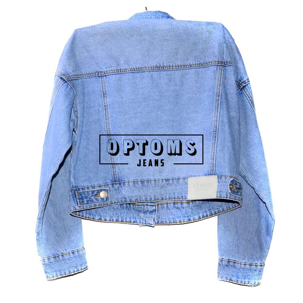 Женская джинсовая куртка KT MOSS 807 S-L/6шт фото