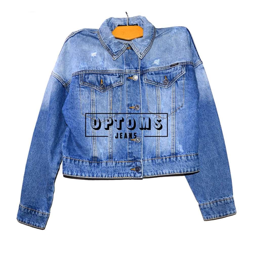 Женская джинсовая куртка KT MOSS 808 S-L/6шт фото