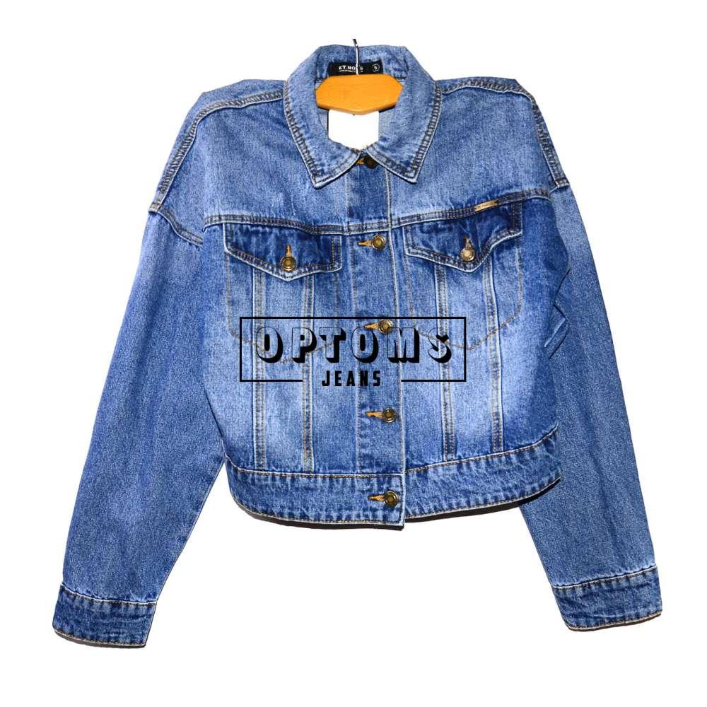 Женская джинсовая куртка KT MOSS 809 S-L/6шт фото