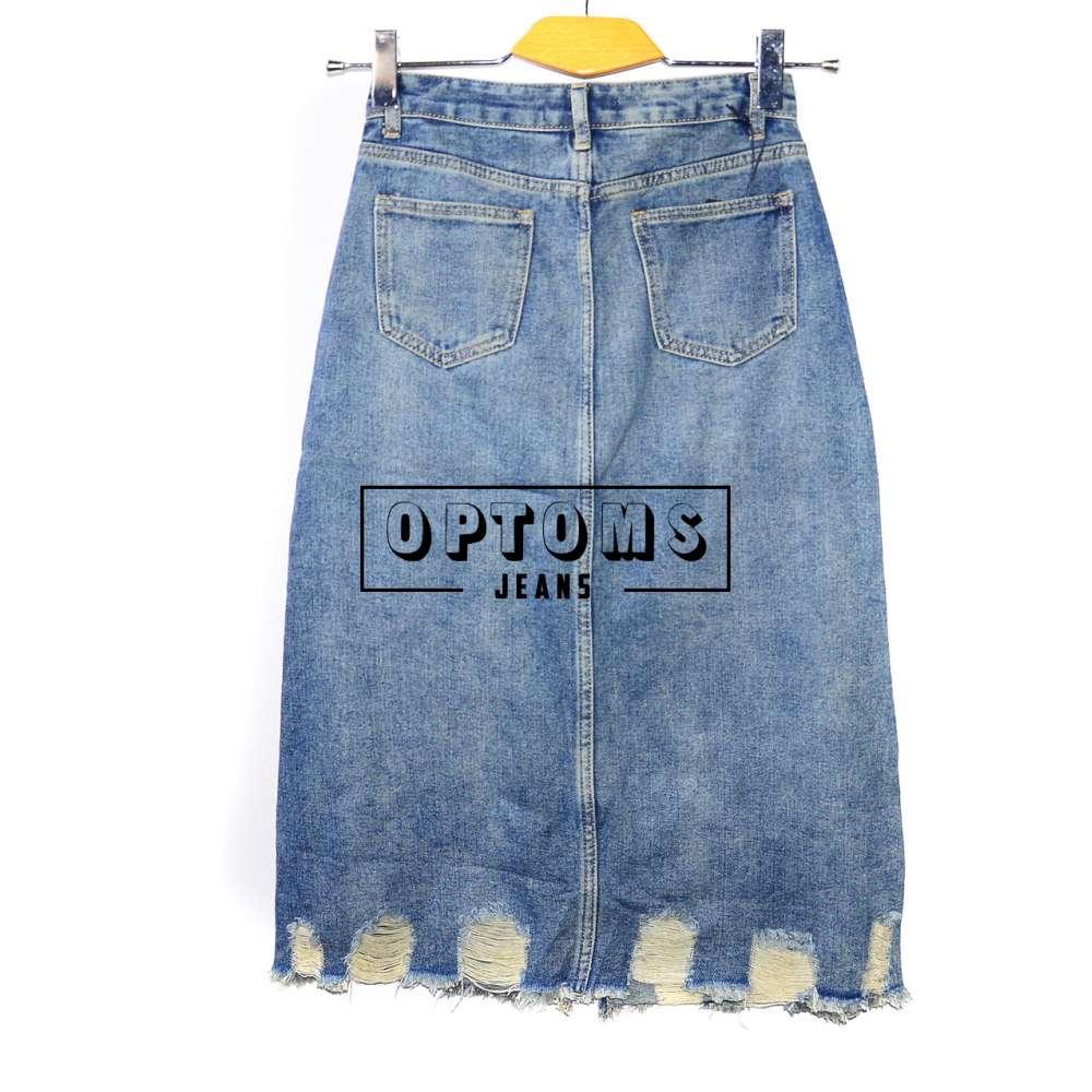 Женская джинсовая юбка KT MOSS 564 S-XL/6шт фото