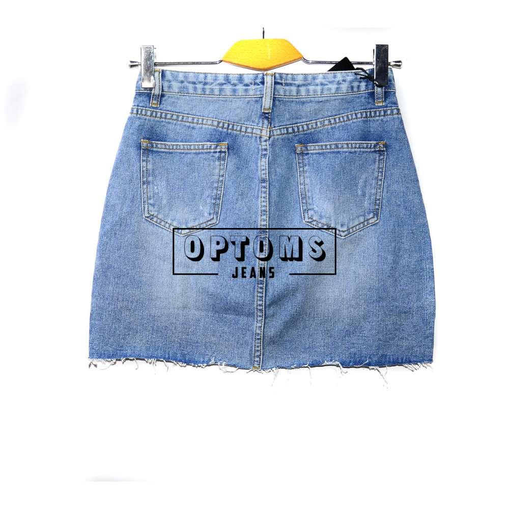 Женская джинсовая юбка KT MOSS 806 S-L/6шт фото