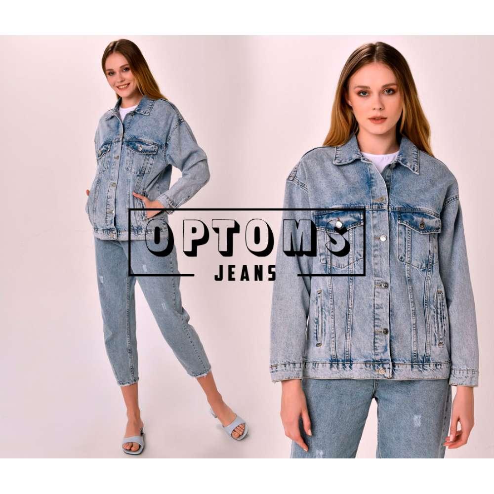 Женская джинсовая куртка оверсайз VT 2022 S-L/5шт фото