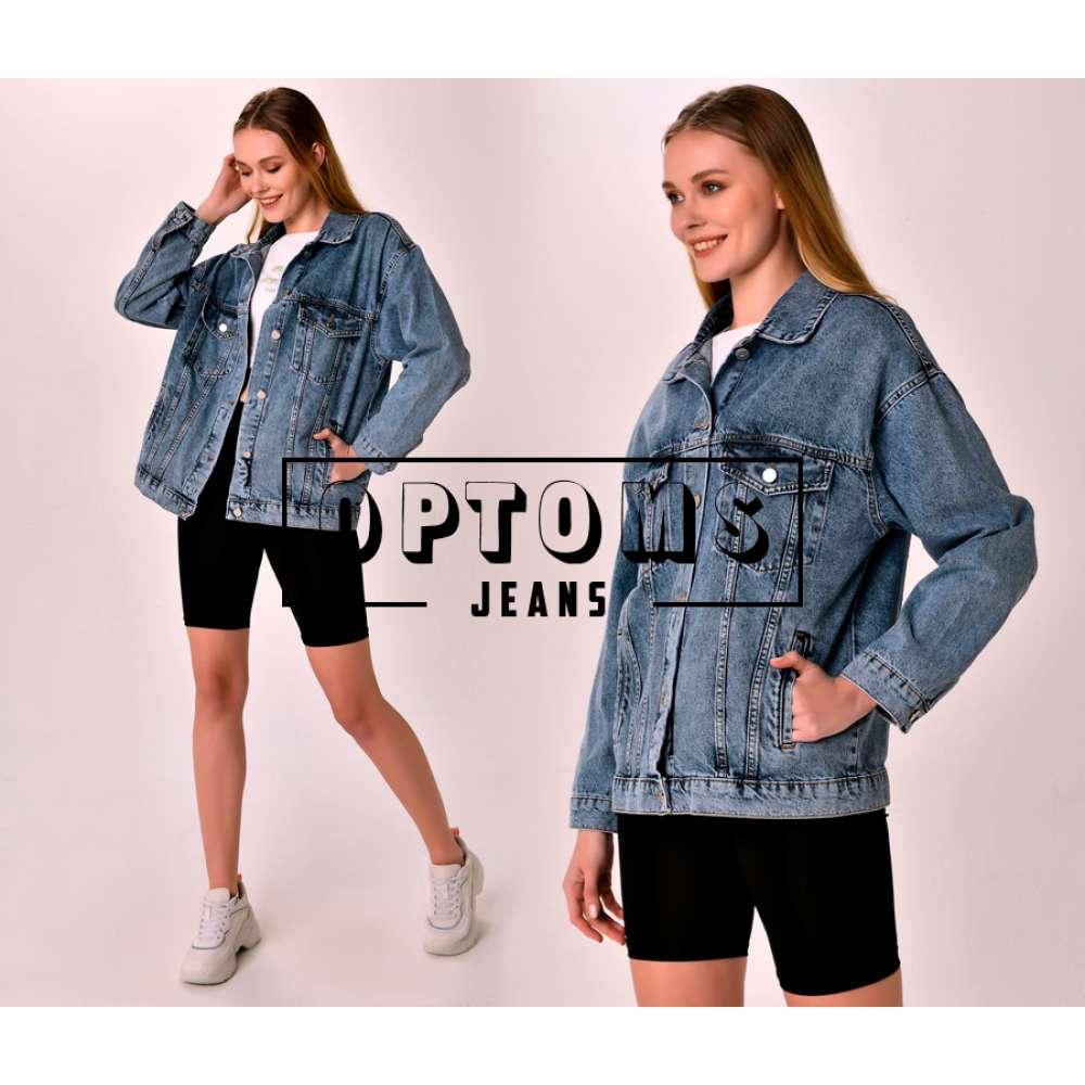 Женская джинсовая куртка оверсайз VT 2023 S-L/5шт фото