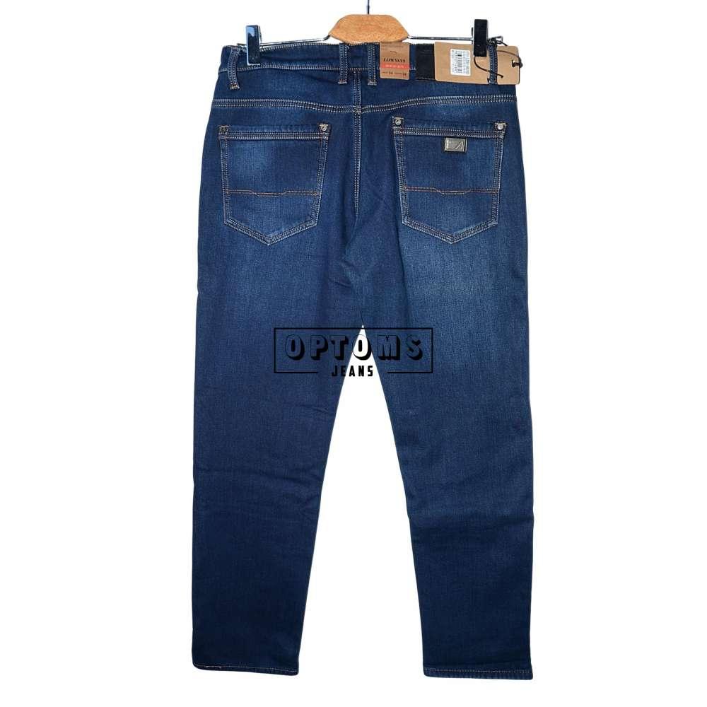 Мужские джинсы на флисе Lowvays 0014d 34-44/8шт фото