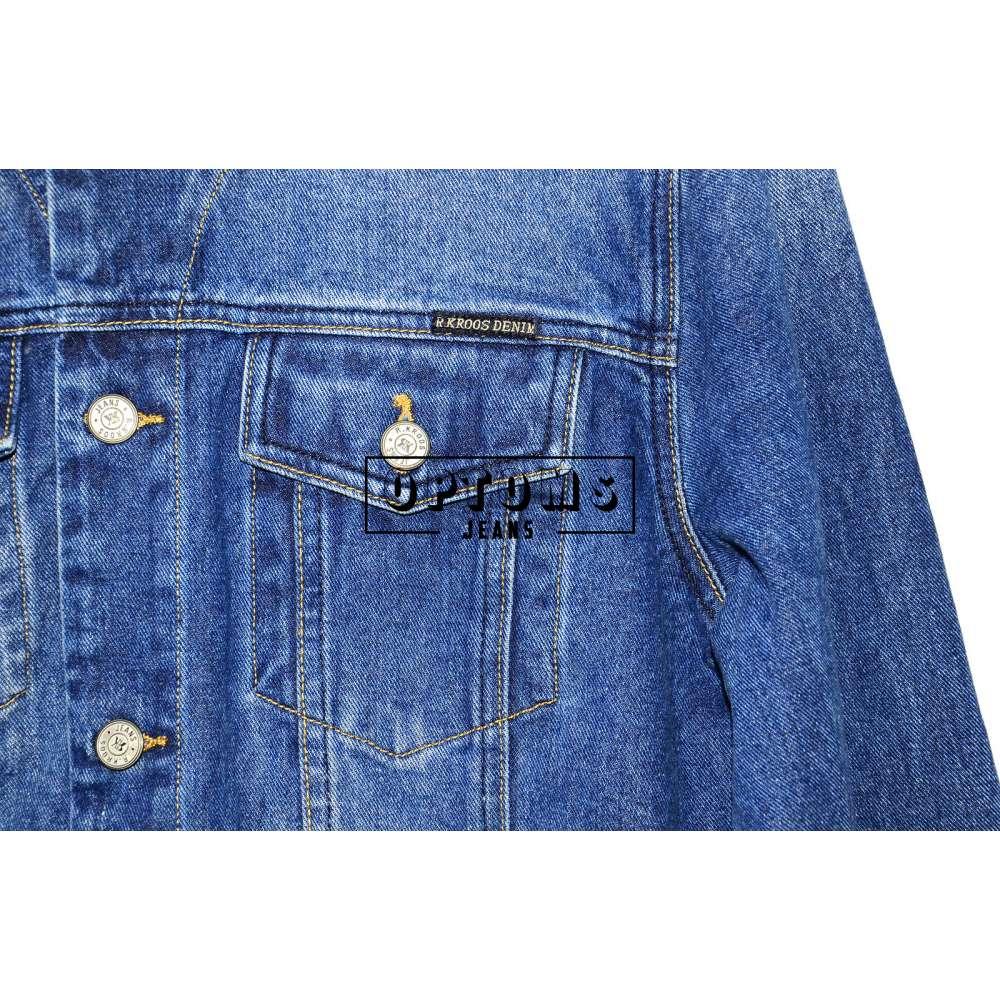 Мужская джинсовая куртка R. Kroos 1020 L-5XL/6шт фото
