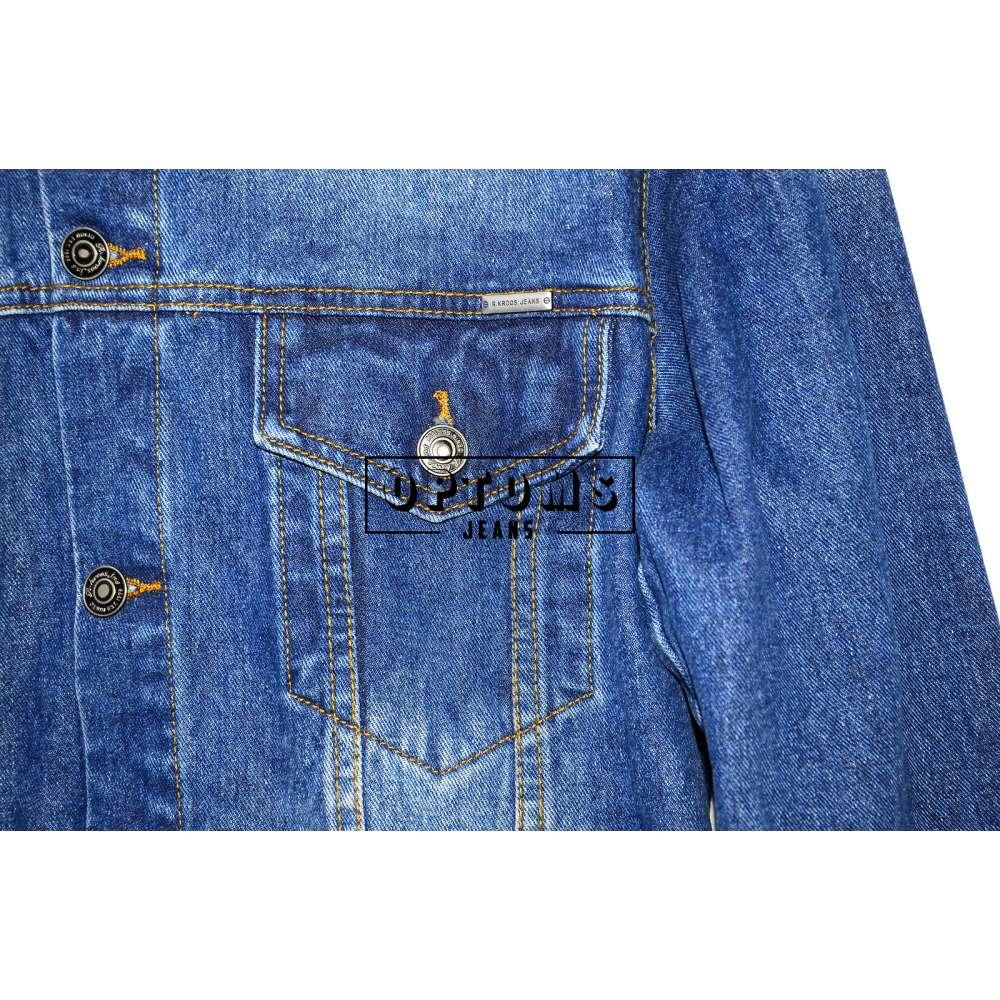 Мужская джинсовая куртка R. Kroos 1022 L-5XL/6шт фото