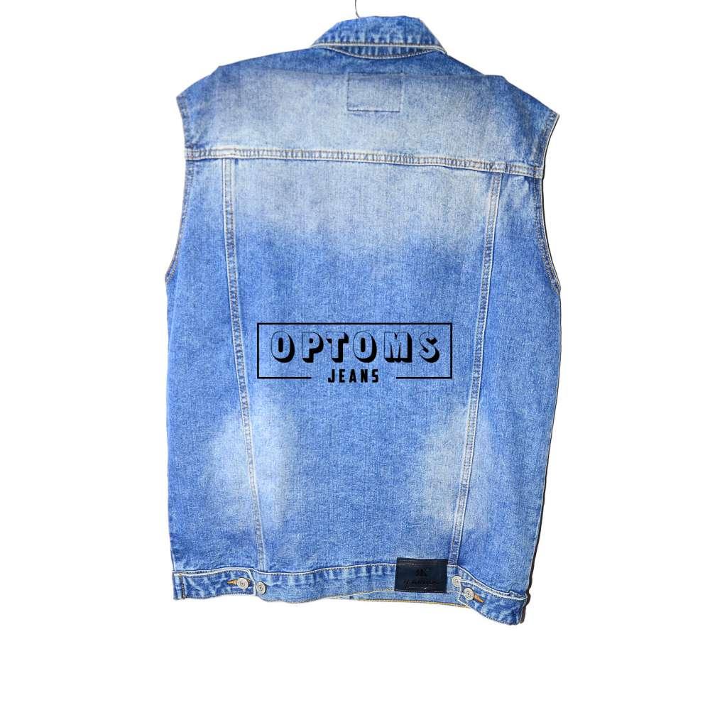 Мужская джинсовая жилетка R. Kroos 1026 L-5XL/6шт фото