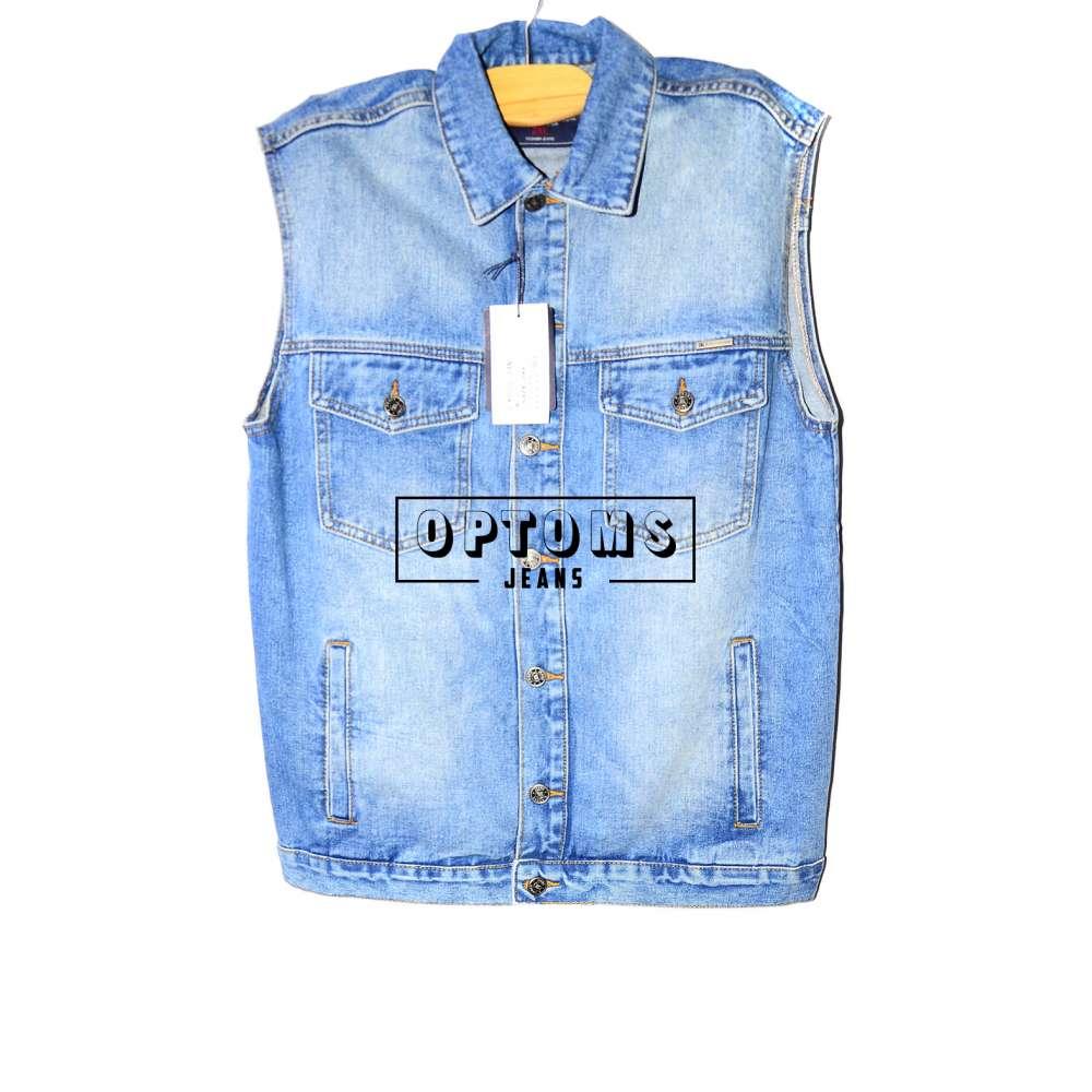 Мужская джинсовая жилетка R. Kroos 1023 L-5XL/6шт фото
