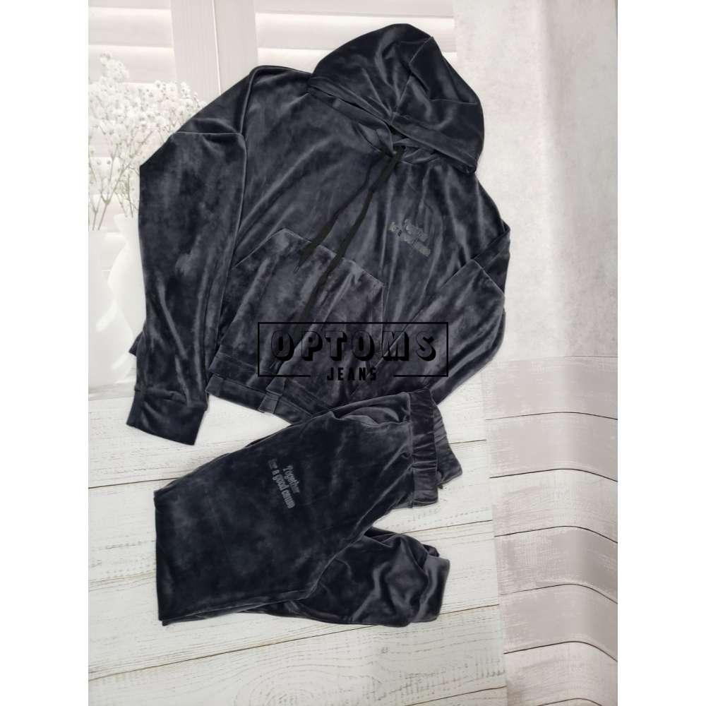 Женский спортивный костюм велюр плюш 50-52-54-56-4 ед 269-13 фото